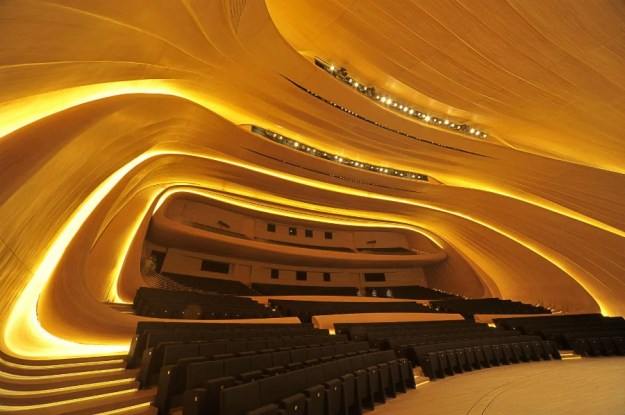 Heydar Aliyev Centre, Baku, Azerbaijan | The World's Most Beautiful Ceilings | Brain Berries