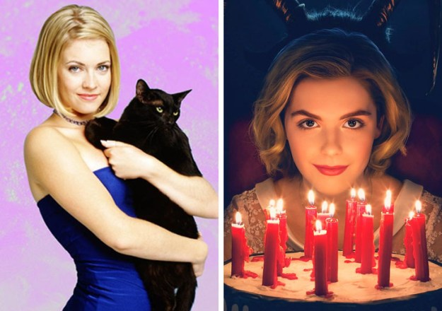 Sabrina, the Teenage Witch | What Iconic Female Characters Look Like In Remakes (Lara Croft Will Really Surprise You) Brain Berries