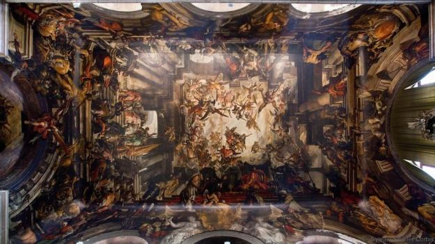 San Pantalon, Dorsoduro, Venice | The World's Most Beautiful Ceilings | Brain Berries