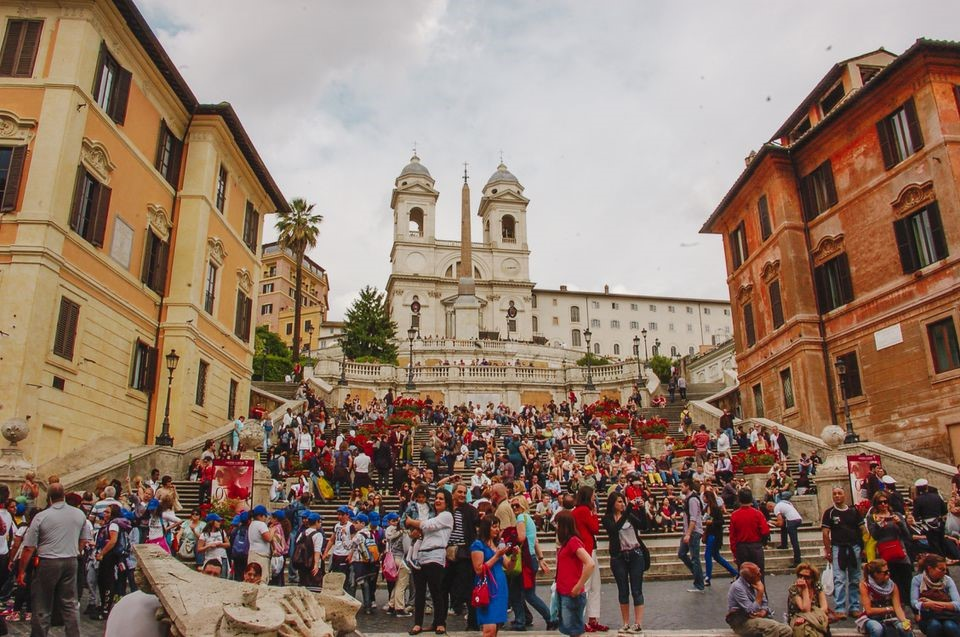 Spanish Steps in Rome | 15 Most Astonishing Staircases In tSpanish Steps, Rome, Italy he World | Brain Berries