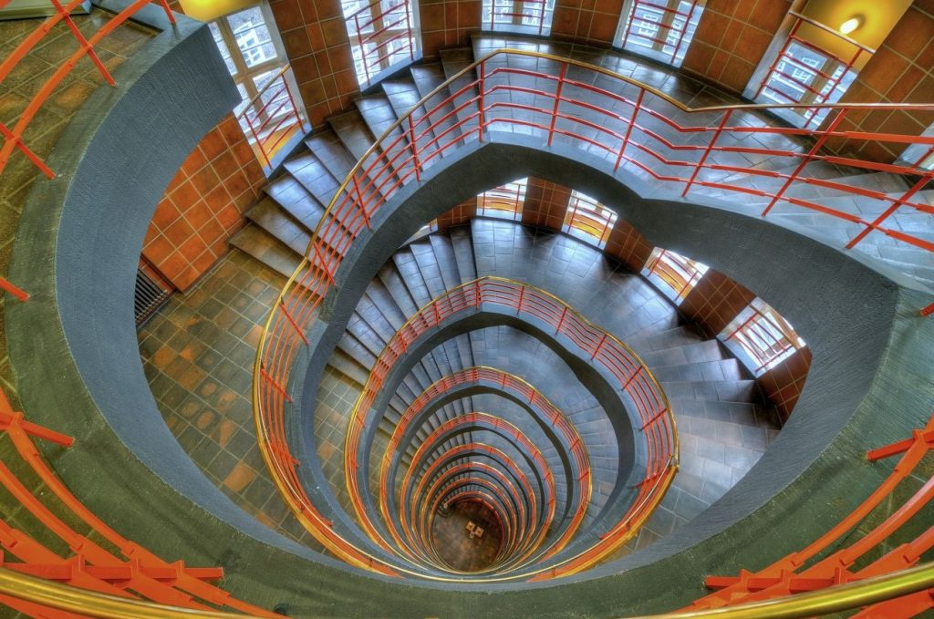 Sprinkenhof Spiral Staircase, Germany | 15 Most Astonishing Staircases In the World | Brain Berries