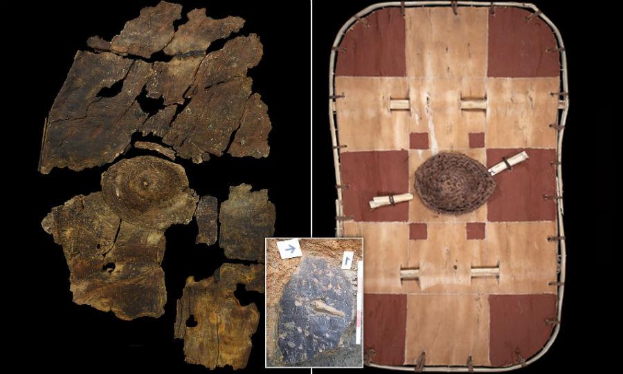 درع ليسترشاير بارك    6 أغرب الاكتشافات الأثرية    برين بيري