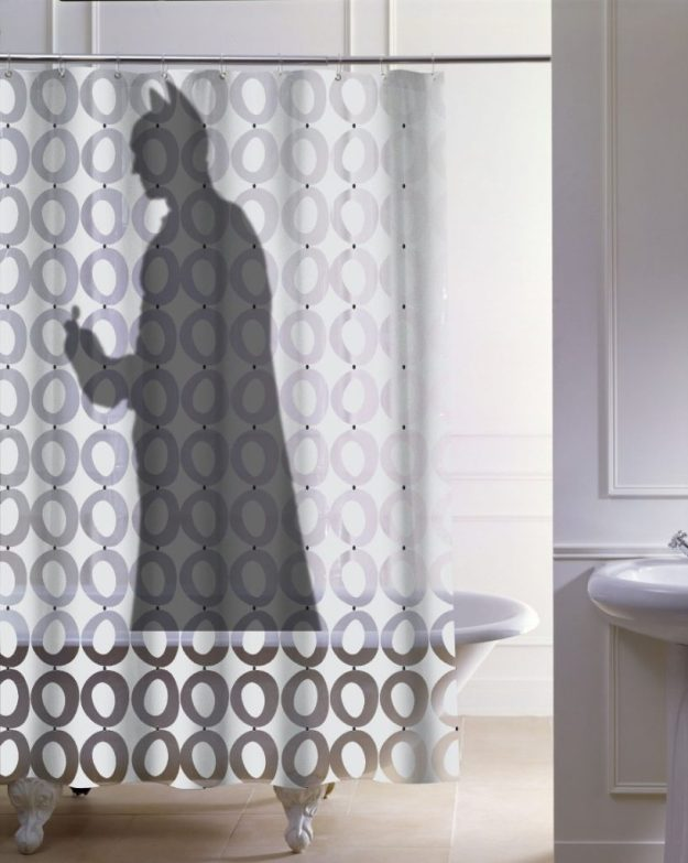 28 Geeky and Hilarious Shower Curtains For Adult #3 | Brain Berries