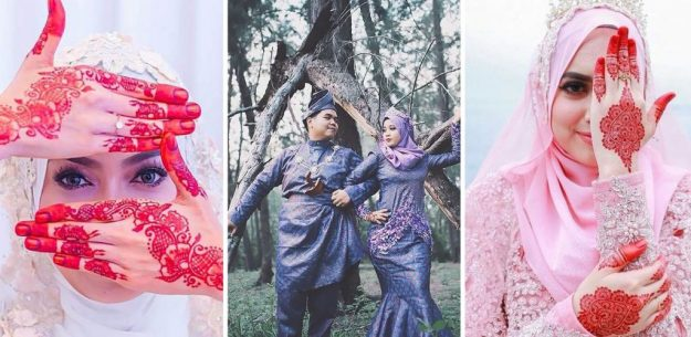 Malaysian bride | The Most Stunning Wedding Looks From Around The World | Brain Berries
