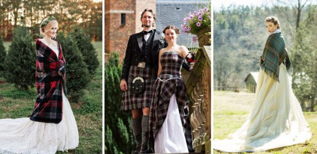 Scottish wedding  | The Most Stunning Wedding Looks From Around The World | Brain Berries