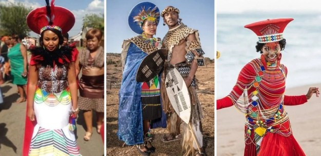 South African wedding | The Most Stunning Wedding Looks From Around The World | Brain Berries