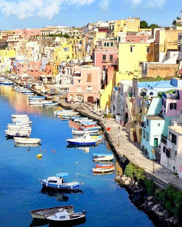 Прочида, Италия   10 красивейших мест в Европе, о которых почти ничего не знают туристы   Brain Berries