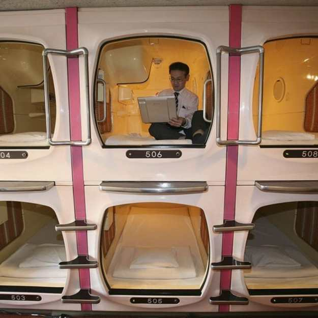 Capsule Hotels | 8 Insane Everyday Japanese Tech That make You Wish You Lived In Japan | Brain Berries