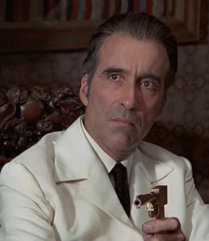 Man with the Golden Gun Christopher-Lee | 12 Actors Who Always Play Villains | Brain Berries