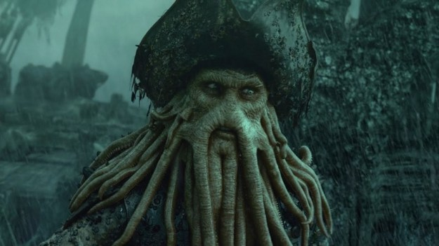 Davy Jones | 6 Most Overpowered Live Action Disney Characters | Brain Berries