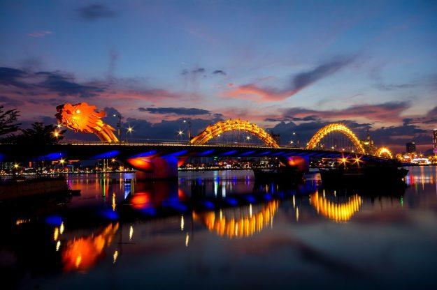 Dragon Bridge, Da Nang, Vietnam | 6 Most Picturesque Bridges in the World | Brain Berries