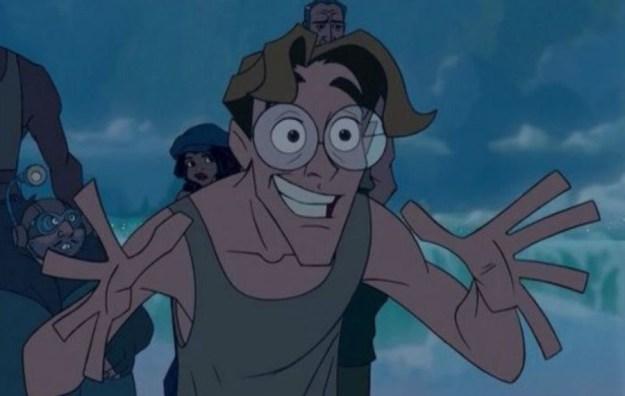 Milo James Thatch | Top 10 Disney Male Role Models | Brain Berries