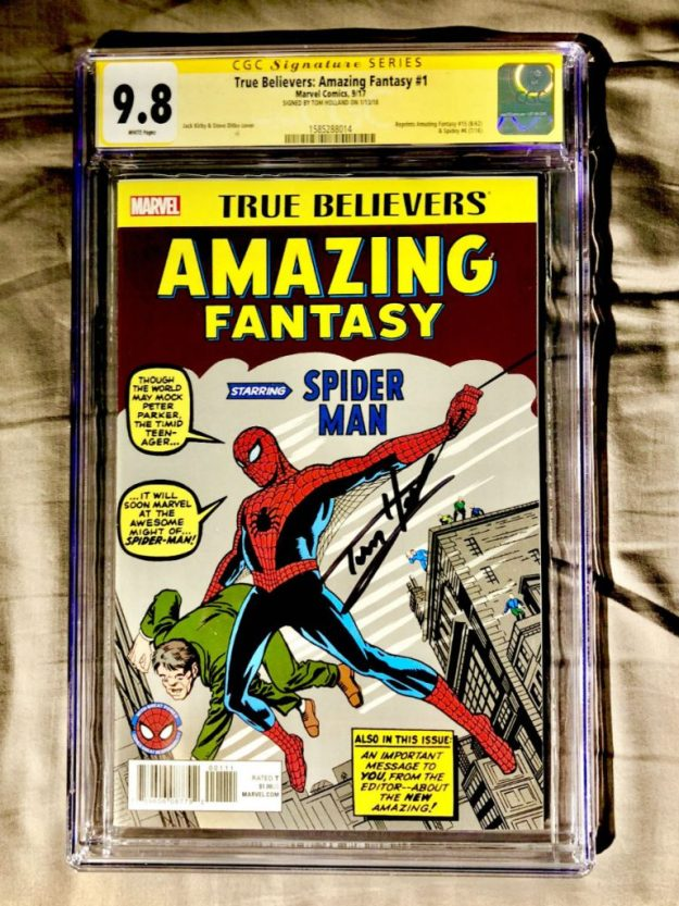 Spider-Man Comic (Amazing Fantasy #15): $1.1 Million | Top 9 Rarest and Most Valuable Items In The World | Brain Berries