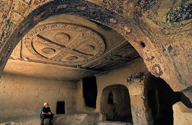 The Cave Churches of Goreme, Turkey   17 Astonishingly Beautiful Cave Churches Around The World   Brain Berries