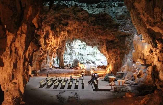 Callao Cave Chapel, Philippines   17 Astonishingly Beautiful Cave Churches Around The World   Brain Berries