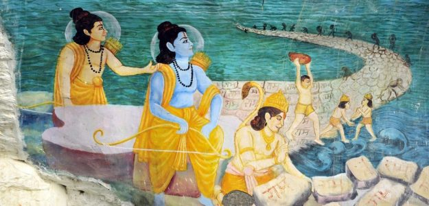 """Ramayana   Could This Be The Ancient """"Magic Bridge"""" Connecting India And Sri Lanka?   Brain Berries"""