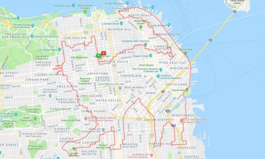 عداء ليني موغان كيتي كات |  عداء سان فرانسيسكو يبتكر الفن فقط من خلال الركض في الأرجاء |  التوت الدماغ