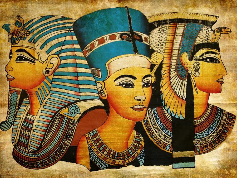 كلا الجنسين يرتديان الماكياج |  8 حقائق مذهلة عن مصر القديمة |  التوت الدماغ