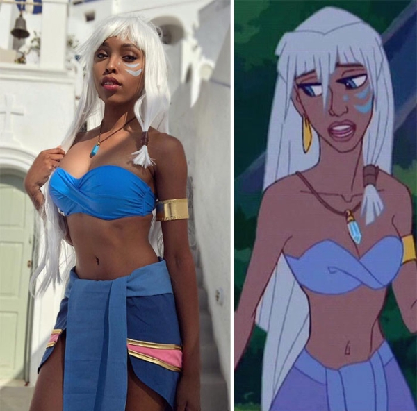 Princess Kida from Legend of Atlantis   15 Astounding Cosplay Transformations of CutiePieSensei   Brain Berries