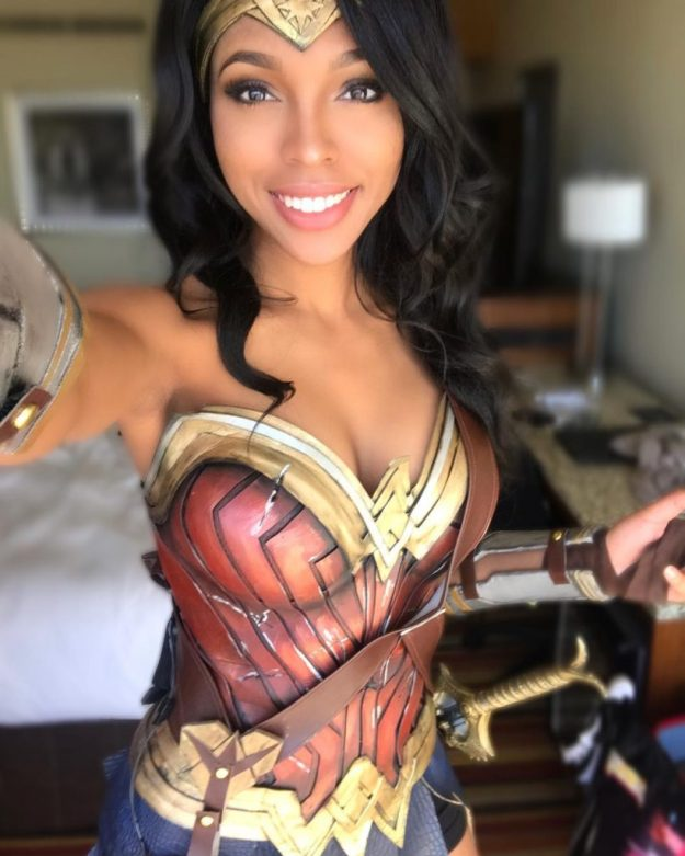 Wonder Woman   15 Astounding Cosplay Transformations of CutiePieSensei   Brain Berries