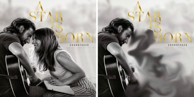 Lady Gaga – A Star is Born | A Streaming Service in Iran is Removing Pictures of Female From Digital Covers | Brain Berries