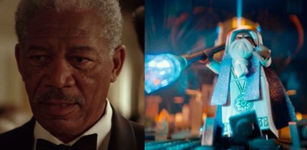 Morgan Freeman – Gandalf in The Lego Movie  | 21 Celebrities Who Voiced Your Favorite Cartoon Characters | Brain Berries