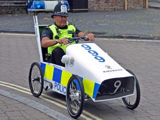 Pedal Car | 7 World's Strangest Police Vehicles | Brain Berries