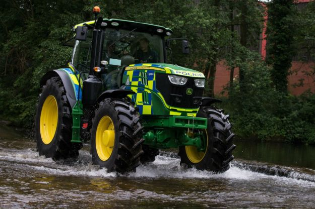 Police Tractor | 7 World's Strangest Police Vehicles | Brain Berries