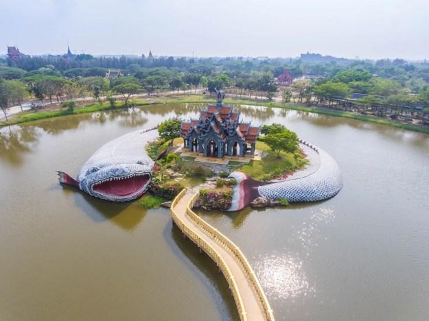 Sumeru Mountain Palace - Muang Boran   7 Thailand's Most Exquisite Architectural Wonders   Brain Berries
