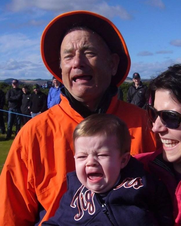 He Loves Photobombing People | 7 Reasons To Love Bill Murray | Brain Berries