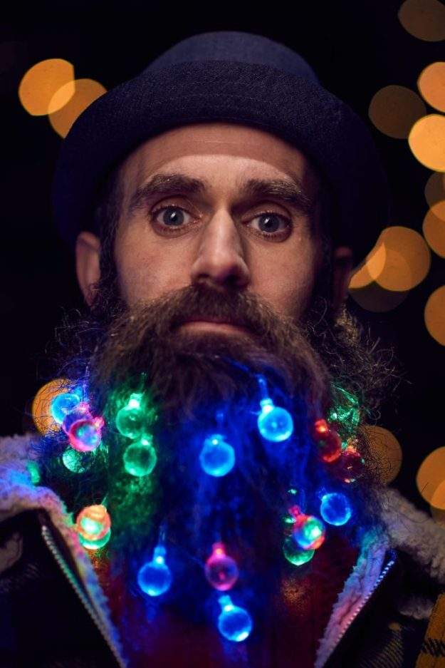 Deck Your Beard With Tiny Christmas Lights! #5 | BrainBerries