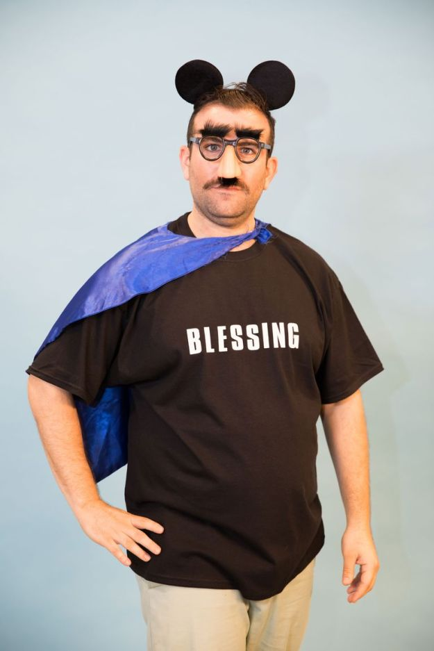 Blessing in disguise | 18 Last-Minute Halloween Costume Ideas | Brain Berries