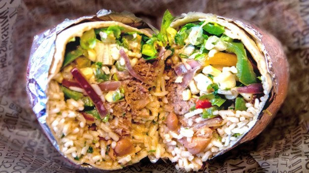 Chipotle Super Burrito  | 10 Foods That Are Guaranteed To Make You Happy | Brain Berries