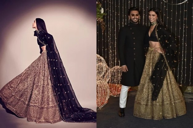 Sabyasachi Mukherjee look from Deepika | Deepika Padukone's Most Memorable Looks | Brain Berries