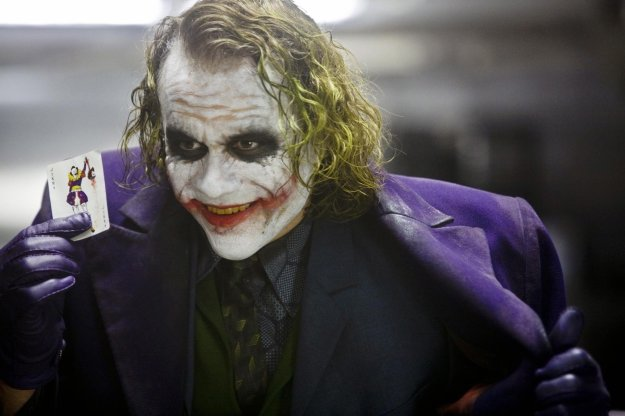 """Heath Ledger in the """"Dark Knight"""" 