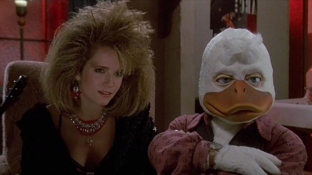 Howard the Duck (1986) – RT score: 15% | Top 8 Worst Superhero Movies | Brain Berries