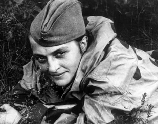 Lyudmila Pavlichenko (1916-1974)   7 Most Badass Women of WWII   Brain Berries