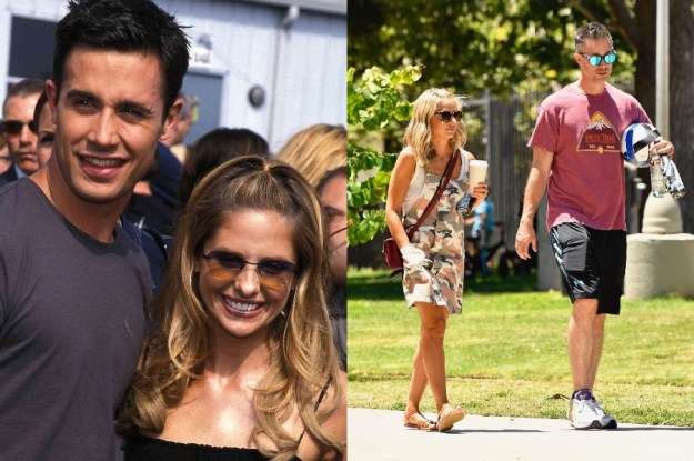 Sarah Michelle Gellar and Freddie Prinze Jr. | 10 Celebrity Couples With The Biggest Height Difference | BrainBerries