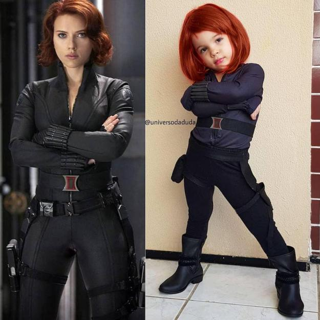 Black Widow cosplay | The Youngest Cosplayer You'll Be Jealous Of | Brain Berries