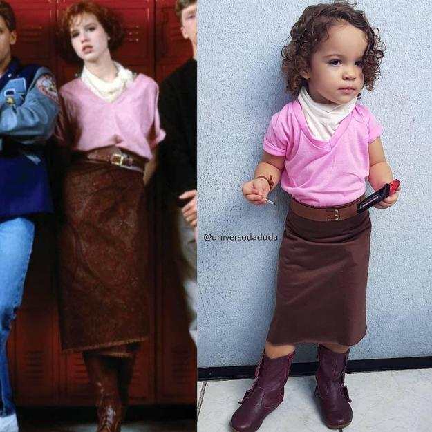 Claire from The Breakfast Club  | The Youngest Cosplayer You'll Be Jealous Of | Brain Berries