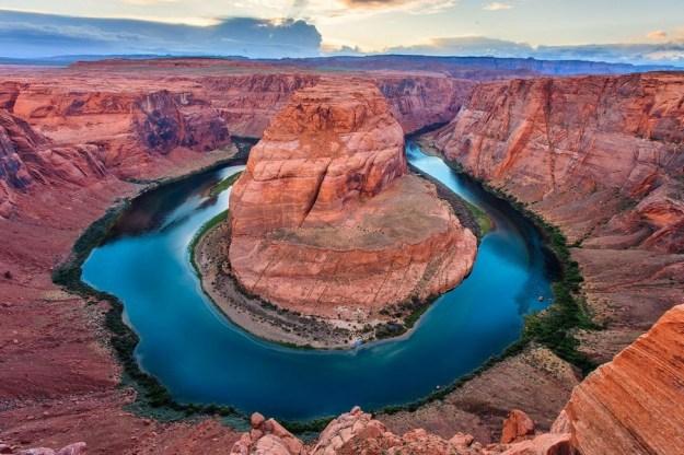 Хорсшу-Бенд или каньон Подкова   Топ-10 самых удивительных пейзажей США   Brain Berries