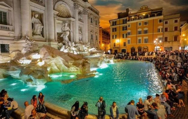 Фонтан Треви, Рим   10 волшебных мест, где исполняются заветные желания   Brain Berries