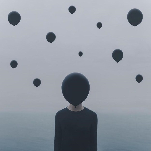Let Go | Surreal Photography That Explores One's Inner Solitary World | Brain Berries