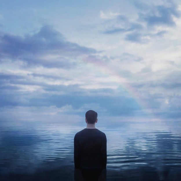 Rainbow | Surreal Photography That Explores One's Inner Solitary World | Brain Berries