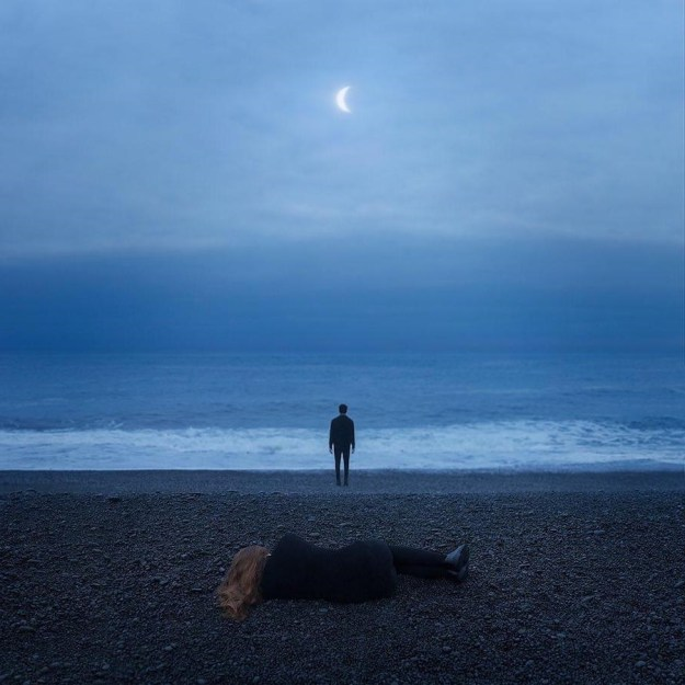 Up to you | Surreal Photography That Explores One's Inner Solitary World | Brain Berries