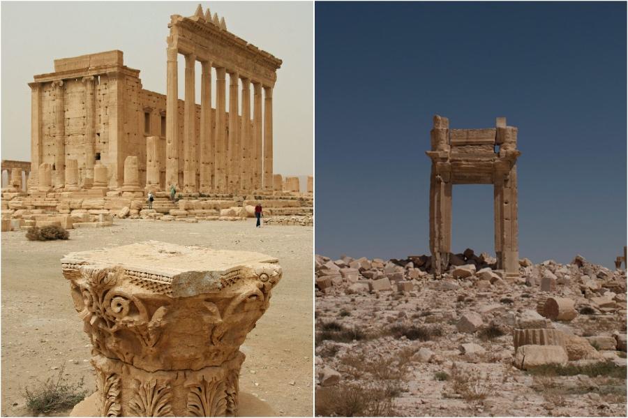 معبد بل ، سوريا |  المعالم التاريخية التي فقدناها في السنوات الخمس الماضية |  برين بيري