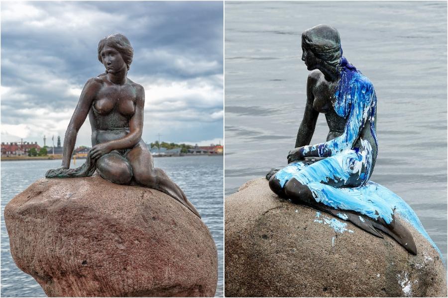 ليتل ميرميد ، كوبنهاغن ، الدنمارك |  المعالم التاريخية التي فقدناها في السنوات الخمس الماضية |  برين بيري