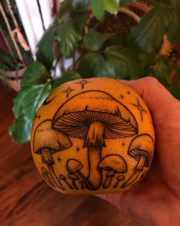 #1   Is Inking Oranges a New Tattoo Art Trend?   Brain Berries