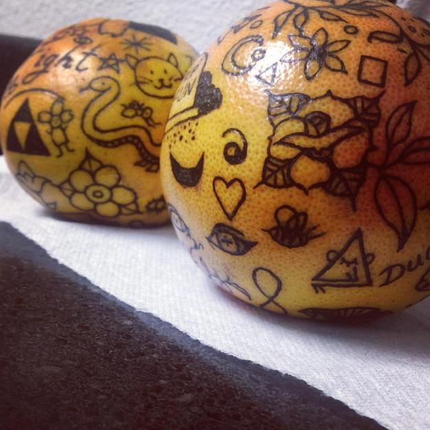 #10   Is Inking Oranges a New Tattoo Art Trend?   Brain Berries