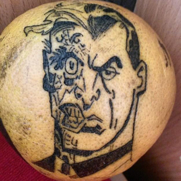 #12   Is Inking Oranges a New Tattoo Art Trend?   Brain Berries